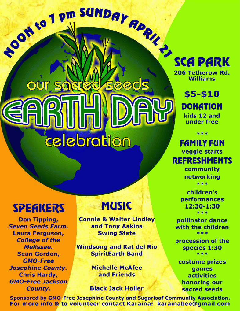 earth day flyers