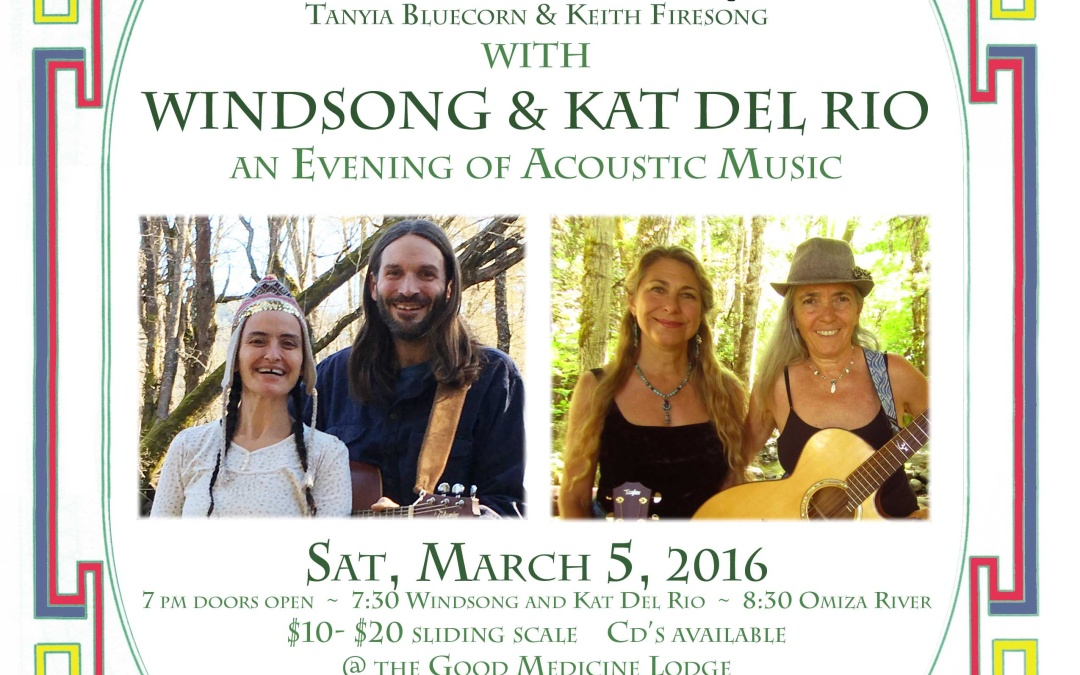 """Omisa River"" and ""Windsong and Kat Del Rio"""